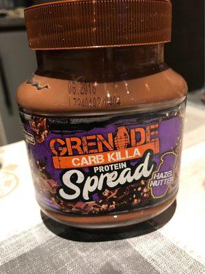 Carb Killa Protein Spread Hazel Nutter Flavour - Produkt - en