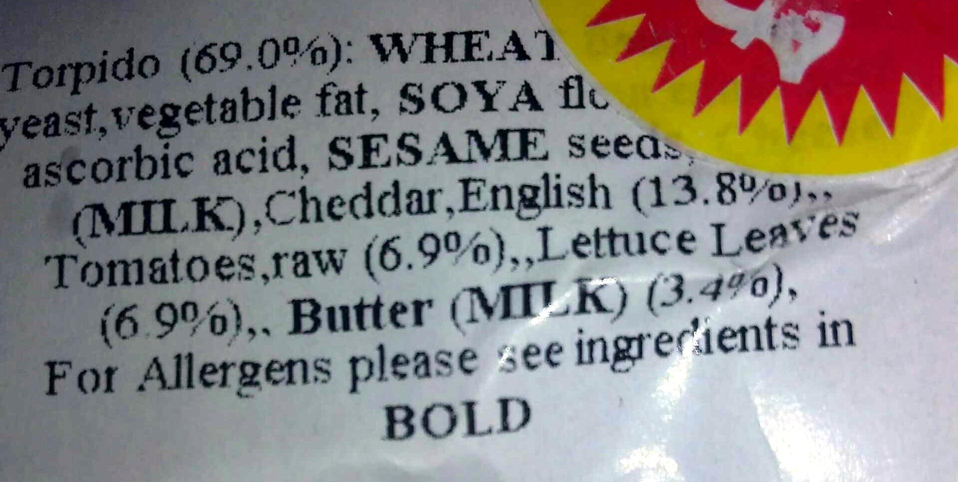 Cheese salad - Ingredients - en
