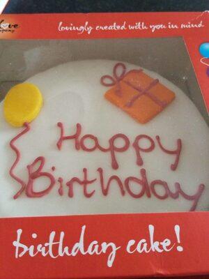 Birthday cake - Product - en