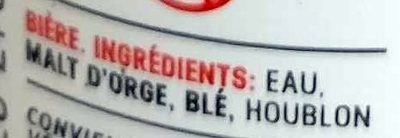 Hells Lager - Ingredients