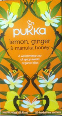 Lemon, ginger & manuka honey - Product