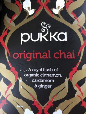 Chaï Original Bio - 20 Sachets - Pukka - Product - fr