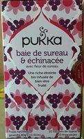 Baie de sureau & échinacée avec fleur de sureau - Product - fr
