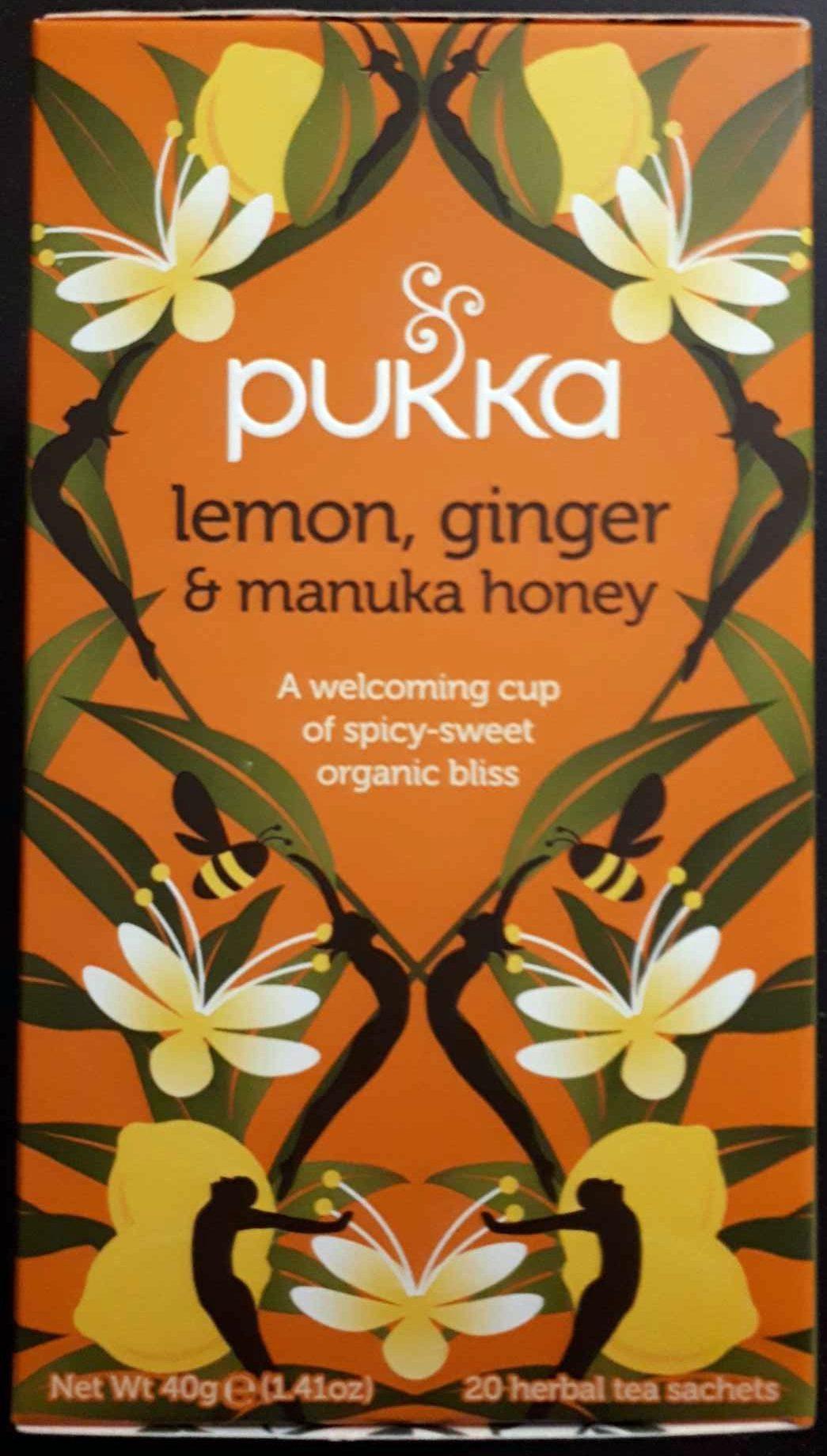 lemon, ginger & manuka honey - Product