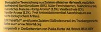 PUKKA Kamille & Vanille & Manuka Honig, 1,8 GR, 20 BTL Packung - Ingrediënten