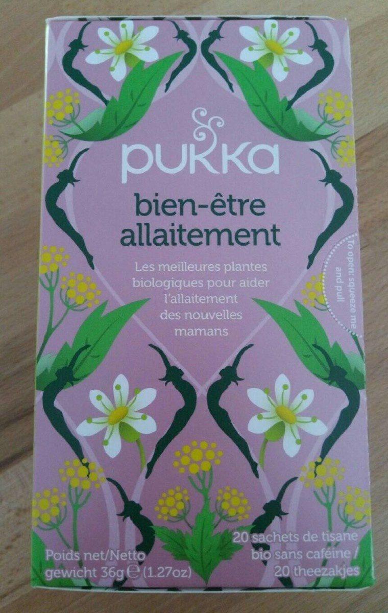 Pukka bien-être allaitement - Produit