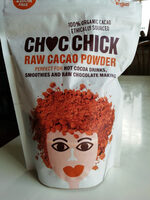 Choc chick raw cocoa powder - Produit - fr