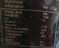 Choc chick raw cocoa powder - Informations nutritionnelles - fr