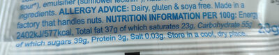 Choccy Chums - Nutrition facts - en