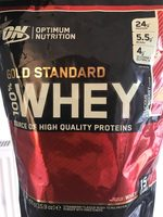 100% Whey Gold Standard 450G Delicious Strawberry - Product - fr