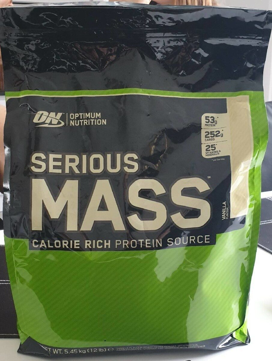 Serious mass calorie rich proteïne source - Product - fr