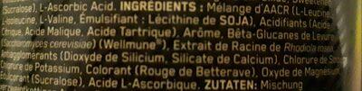 Optimum Nutrition 266 g Raspberry And Pomegranate Gold Standard Bcaa Powder - Ingrediënten - fr
