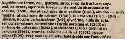 Twinkies - Ingredients