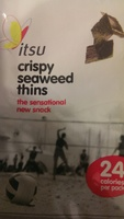 itsu - crispy seaweed thins - Product