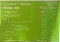 Miso' Easy Chilli Miso 3 x (60g) - Nutrition facts - en