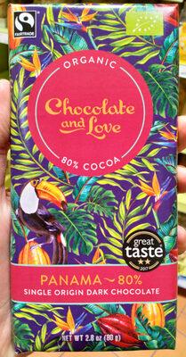 Panama 80% single origin dark chocolate - Producte - en