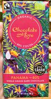 Panama 80% single origin dark chocolate - Produit - fr