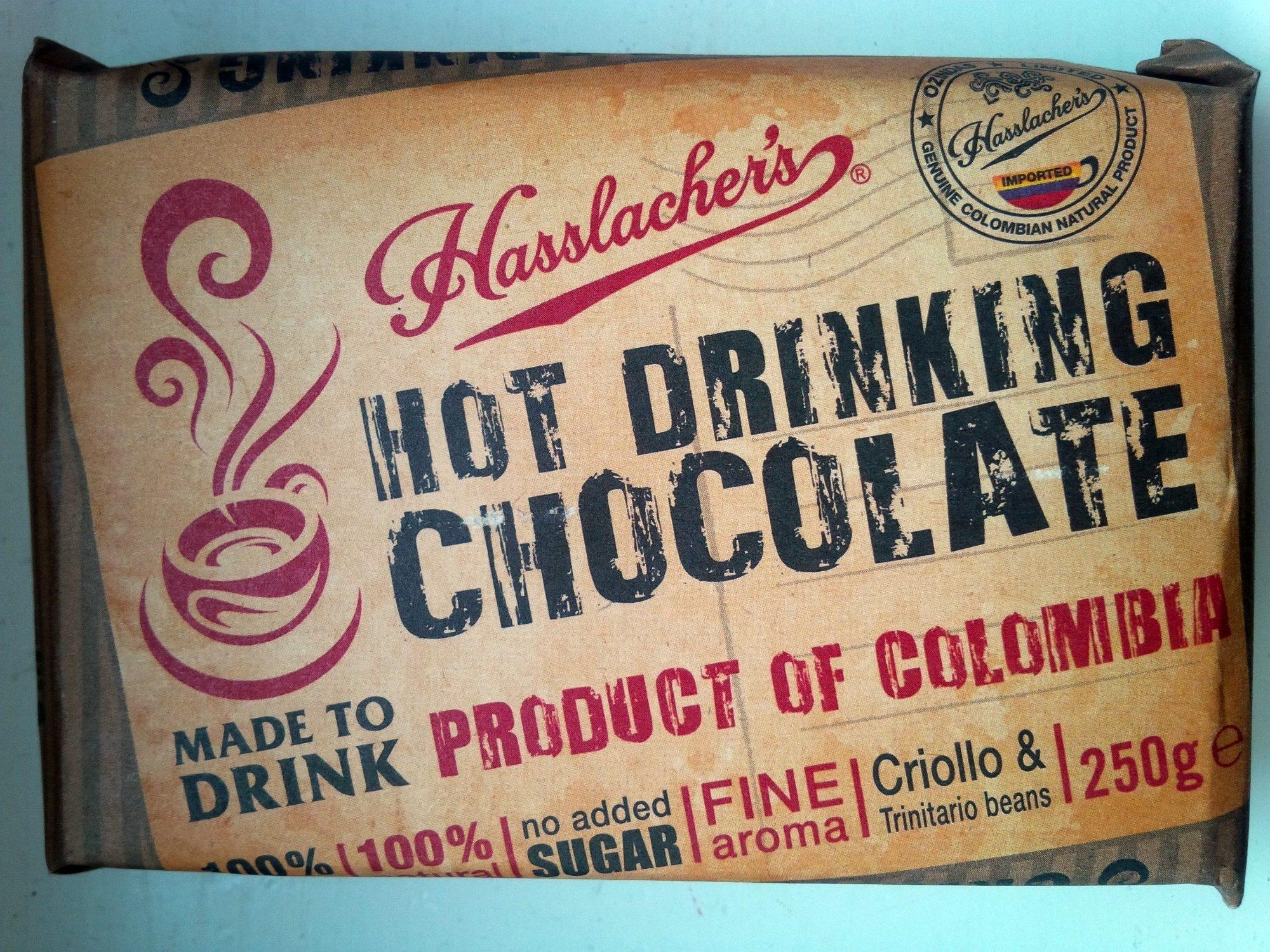 Hot Drinking Chocolate - Produit - de