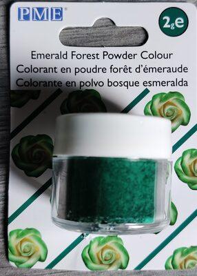 colorant en poudre forêt d'émeraude - 1