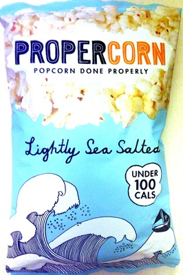 Proper Corn - Popcorn Done Properly - Lightly Sea Salted - Product