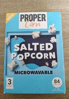 Salted popcorn - Product - en