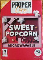 Sweet popcorn - Product