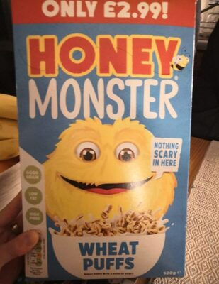 Honey Monster wheat puffs - Product