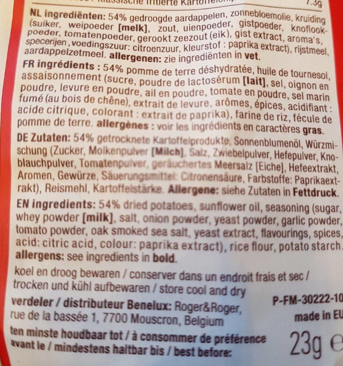 Barbeque - Ingrediënten