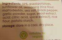 Popchips Salt And Pepper Potato Chips 23 g (pack Of 24) - Ingrédients - fr