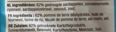 Popchips - Ingrédients - fr