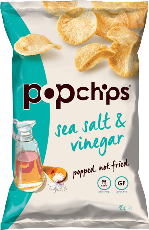 Sea Salt & Vinegar Potato Chips - Produit - fr