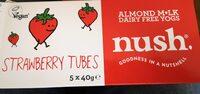 Strawberry Tubes Dairy free yogs - Produit