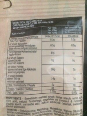 Cola Bottles 10 X 100G - Nutrition facts - en
