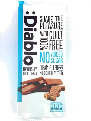 gaufrettes chocolat au lait sans sucre - Product - en
