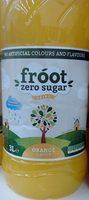 Froot Zero Sugar Orange - Produit