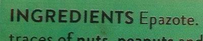 Dried Epazote - Ingredients - en