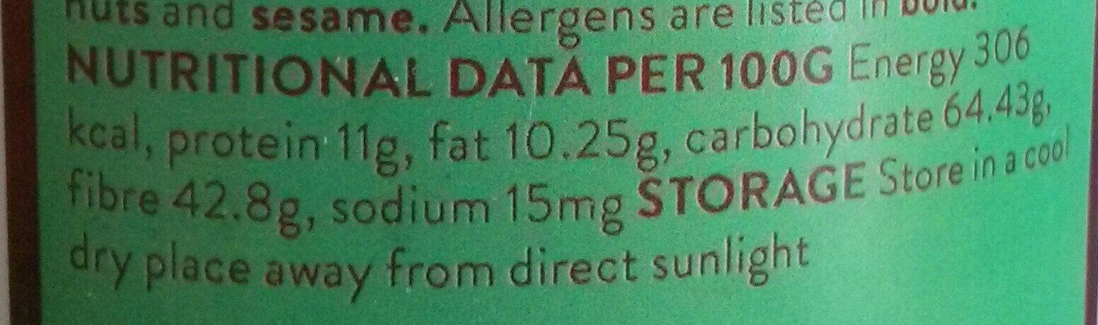 Mexican Oregano - Nutrition facts - en