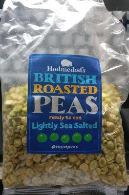 British Roasted Peas - Lightly Sea Salted - Produit - en