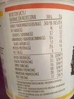Peanut butter - Información nutricional - es
