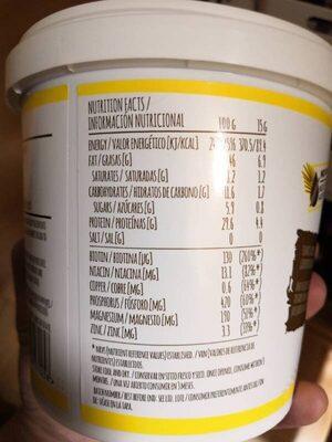 Peanut Butter - Información nutricional