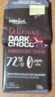 Delicious dark choco semillas de cacao - Producte - es