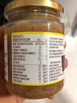Peanut butter - Nutrition facts - es