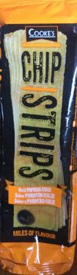 Chip strips goût paprika - Produit - fr
