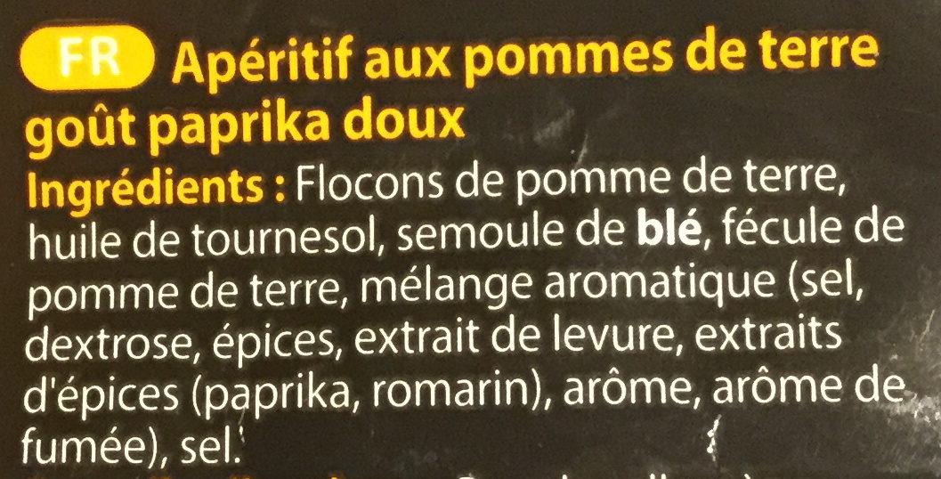 Chip strips goût paprika - Ingrédients - fr
