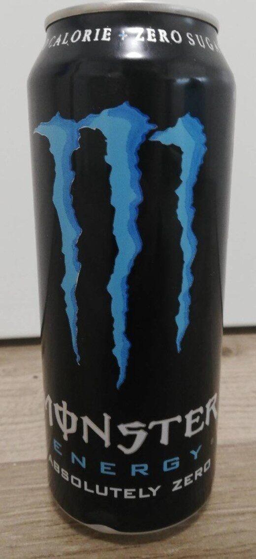 Monster Energy absolutely zero - Prodotto - sv
