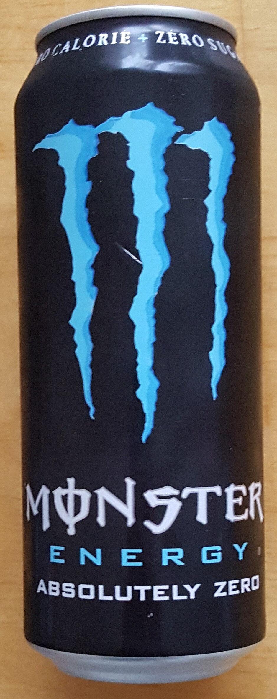 Monster Energy Absolutely Zero - Produit