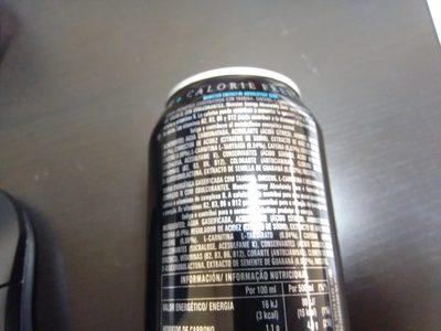 Monster Energy Zero Sugar - Ingrediënten - es
