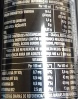 Monster Energy Lo-cal - Informations nutritionnelles
