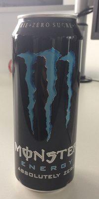 monster énergie zéro sucre - Prodotto - fr