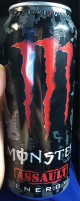 Monster Assault Energy - Produit